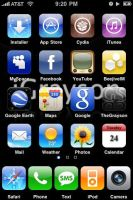 Jailbroken iPhone by TheGrayson