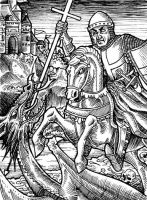 St. George and the Dragon by Shaphan