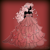 Princess Diamante ::The ROSE GOWN:: by YamPuff
