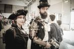 Steampunk people, Romics 2017, april by IntrusioniCreative