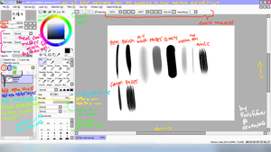 Paint Tool SAI OVERVIEW by Purufufuru