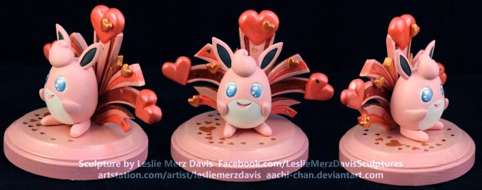 Wigglytuff Used Cute Charm by aachi-chan