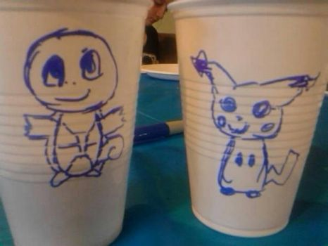 Pokcups by Rainbow-Space-Cat