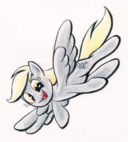 Derpy for AQ by AmbroseButtercrust