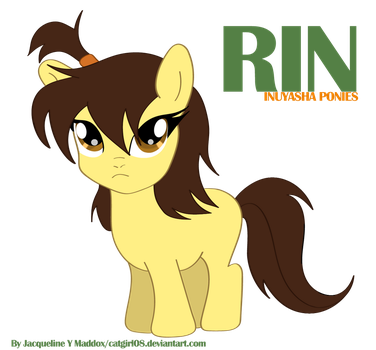 Rin from Inuyasha Pony by Catgirl08
