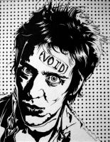 Richard Hell by styrofoam-SKELLETON