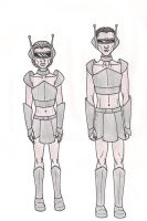 69th Hunger Games: District 3 Chariot Costumes by 13foxywolf666