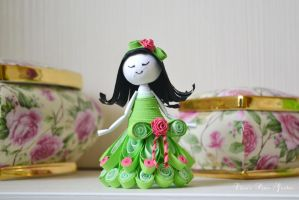Rose fairy by cridiana