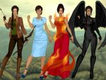Elemental Katniss by M-Mannering