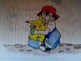 Pokemon Sketch With Colour! by MadWorld06