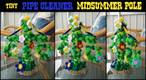 Pipe Cleaner TinyMidsummerPole by teblad