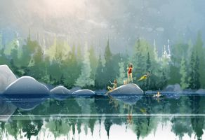 Caught in the Summer rains. by PascalCampion
