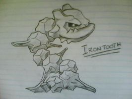 Irontooth the Steelix. by Skyblufox