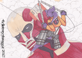Attack on... Ticket? by Heliotrope-Housecat