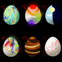 Creature Egg Adoptables 1 by Time-Dancer