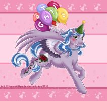 Happy B-day Xanadove by Honeykitten