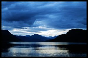 Powell lake by draconis393