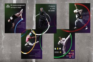Olympic rhythm all posters by tiamatsergey