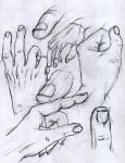 Hands Study by Finihous