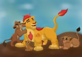Attack On Kion by t1mey