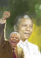 nelson mandela by Phothooth