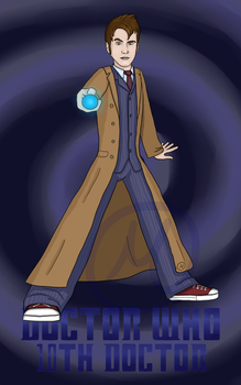 10th Doctor by Moonshade-Shjelle