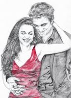 Kristen and Rob by sourcherry1