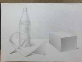Still life drawing by SingleDual