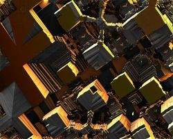 Lost in Time-3D Abstract by ancient--one