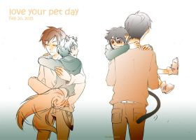 ROTG/BH6- Love Pet Day by BonBonPich