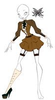 PC: ColourFairyy's steampunk outfit by MissArly