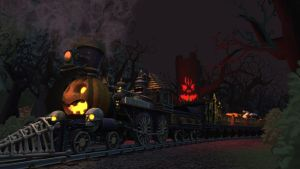 the spirit of Halloween by trainloco505