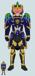 Toku sprite - Haku (Victory Arms - Corrupted Ver.) by Malunis