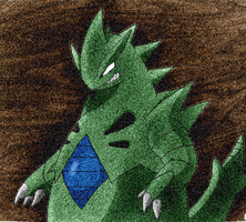 Tyranitar for Avatar by Esepibe