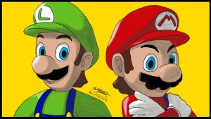 Super Mario Brothers by SunbeamStone