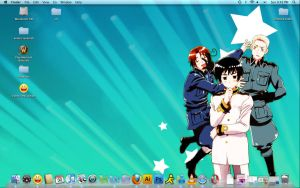 Work comp desktop 8D by zizzy