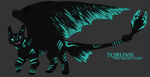 TORUNN THE NIGHT FURY by TannerAndCompany
