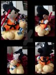Goku Doll by FeedtheMachine121