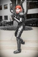 Commander Shepard cosplay - Full Body Shot by Viverra1