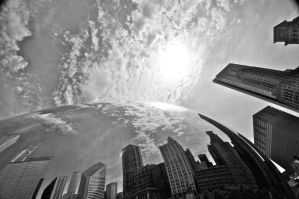 Cloud Gate I by theCrow65