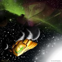 Metroid spacescape by SuperDeano1