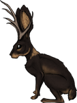 Jackalope2 by RoseThornStables