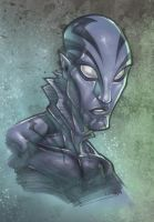 DARKLP's abe sapien by RSB13