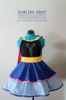 Anna - Frozen - Cosplay Pinafore by DarlingArmy