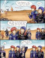 FE7: Pent takes care of 'em by Toivoshi