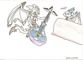 silverwing.. lord of the sitar by silver-wing-mk2