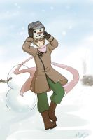 Commission- Russia in the Snow by yamekaze