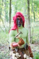 D'you Want Axe - Warcraft Forest Troll, Horde by Carancerth