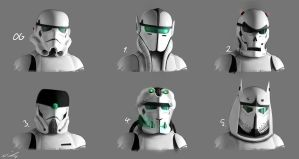 Storm Trooper Redesigns by nixuboy