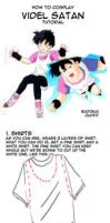 Videl Cosplay Tutorial by ssjbra-chan